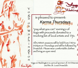 'Event Flyer - Yoga on Washington' Legacy Graphic Design detail by .carolinecblaker. 1083814226