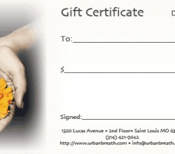 'Gift Certificate' Legacy Graphic Design detail by .carolinecblaker. 1084848830