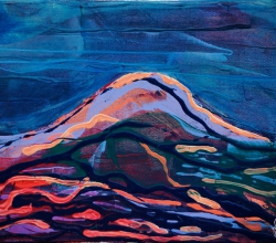 'Small Volcano 1' Landscape detail by .carolinecblaker. -19617