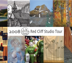 'Red Cliff Studio Tour' Legacy Graphic Design detail by .carolinecblaker. 1213670061